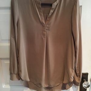 Women's dark blush colored tunic or blouse